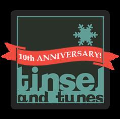 Tinsel and Tunes Logo