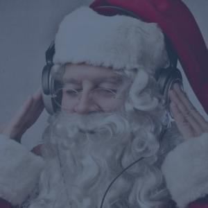 Santa Listens to Tinsel & Tunes
